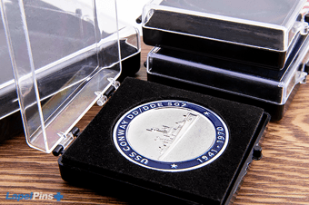 Acrylic Coin Case