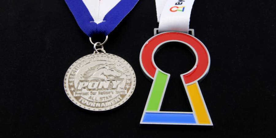 enamel medals lifestyle image 2