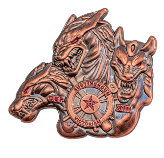 3d coin challenge coin