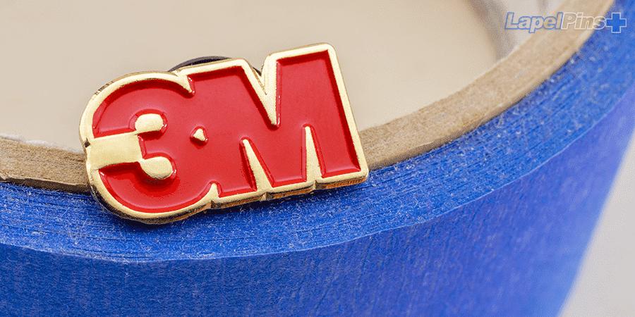 3M Soft Enamel Lapel Pin