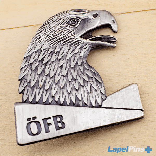OFB Eagle Die Struck Lapel Pin