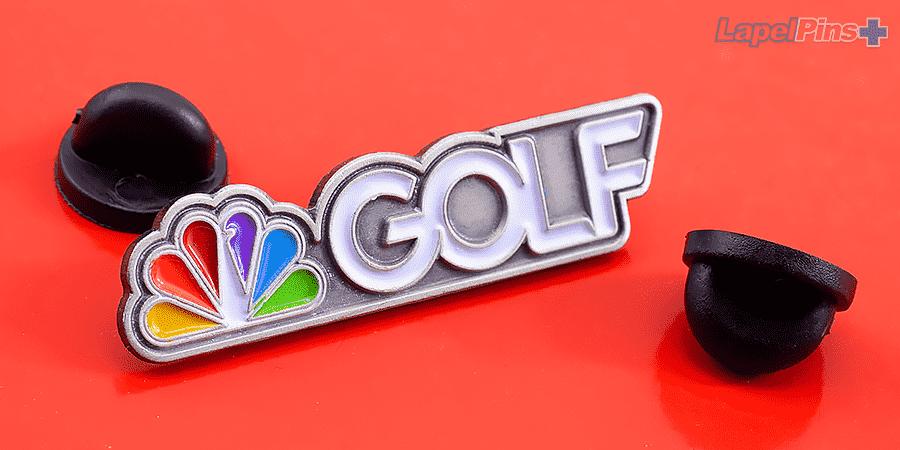 NBC Golf Lapel Pins Plus