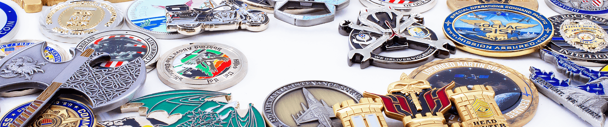 Challenge Coins Plus Index header