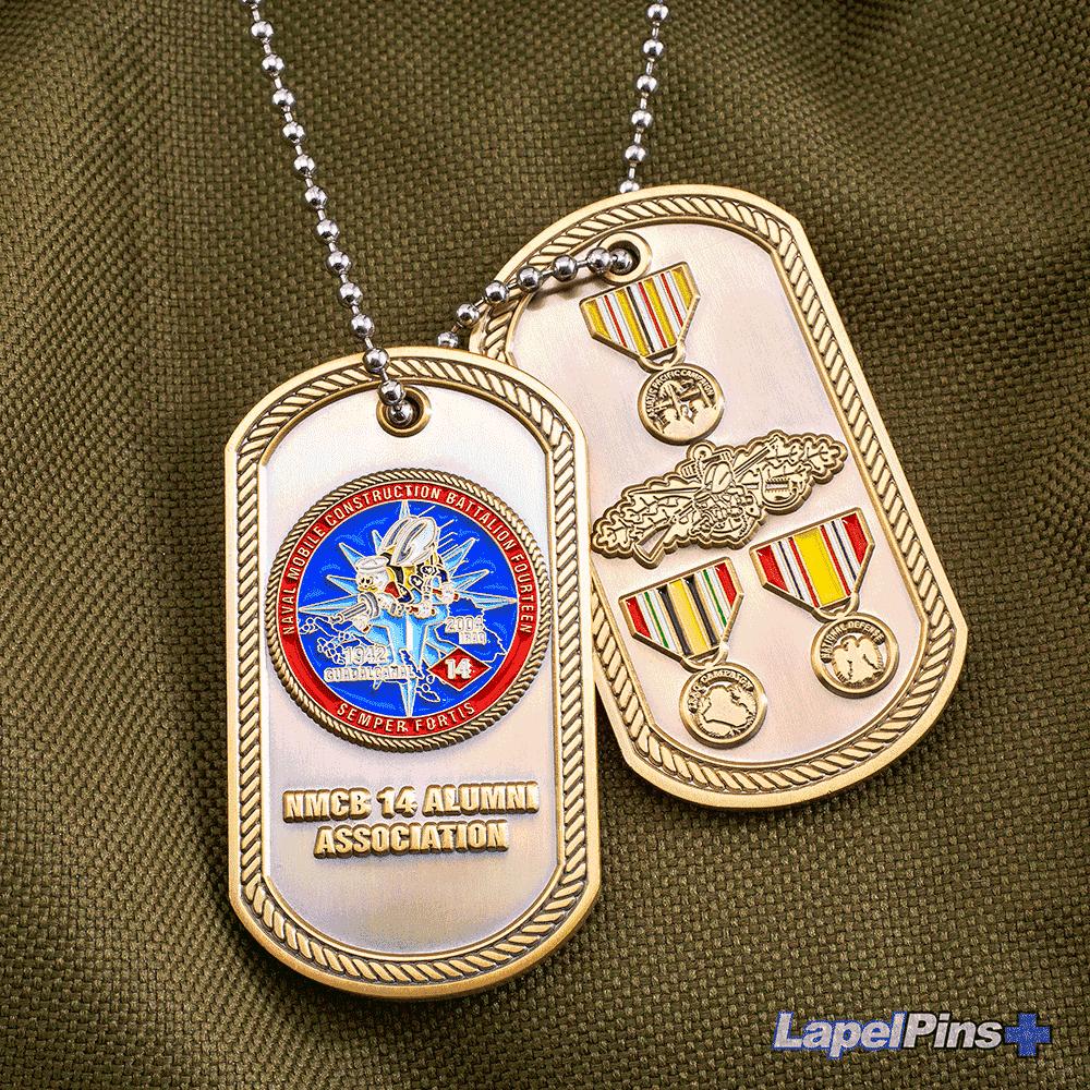 NMCB-14-Alumni-Association---AC---Dog-tag---Military