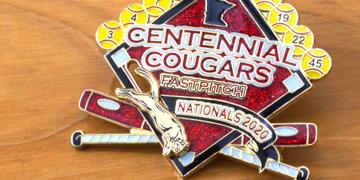Centennial Cougars Trading Pins