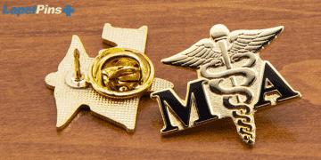 Hospital Lapel Pin Recognition Pin L