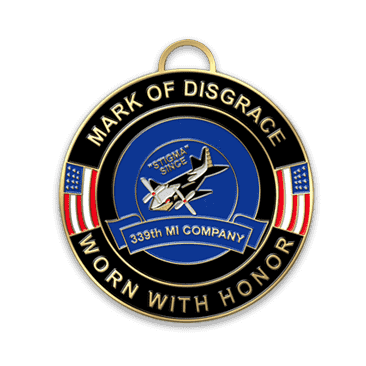 mark of disgrace medal