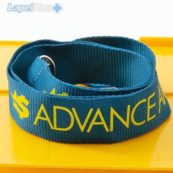 Polyester Lanyards Cash Advanced Lanyard S1