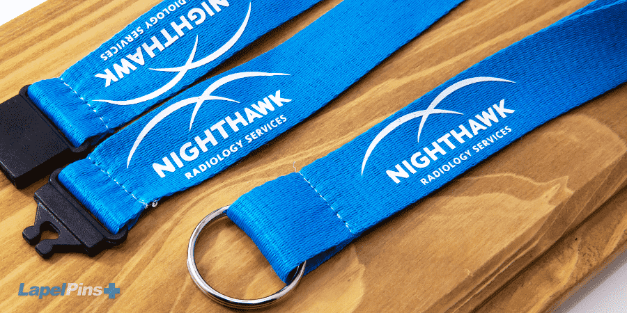Nighthawk Nylon lanyard lanyards plus H
