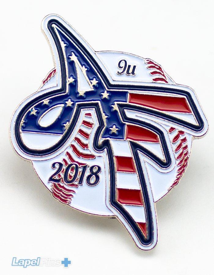 AF Baseball Trading Pin