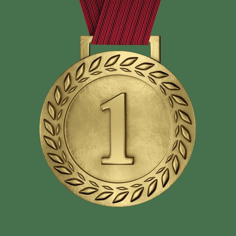 Antique Gold Medal