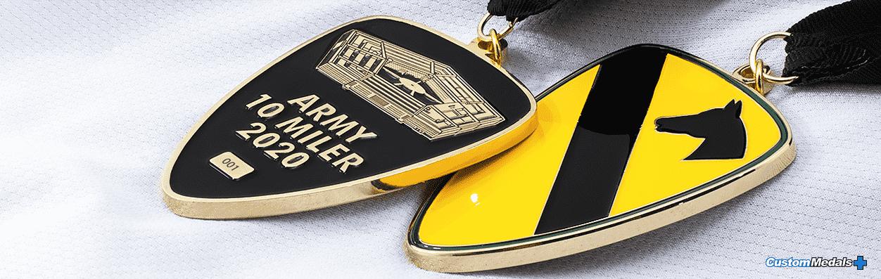 military custom medal by lapel pins plus