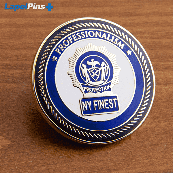 NY Finest Police Pin Recognition S