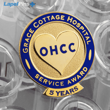 OHCC Hostpital Pin Recognition Lapel Pin