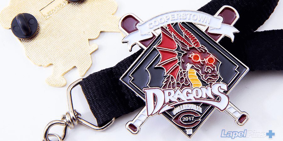 Dragons Trading Pin with Blinker