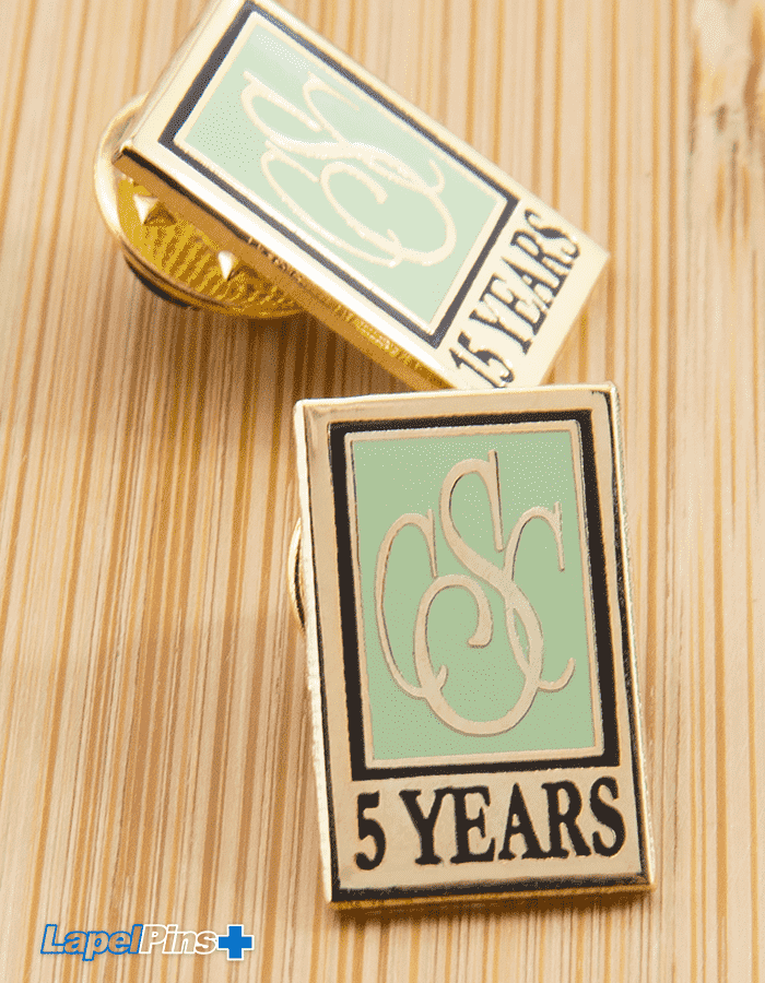 employee recognition lapel pin2 V