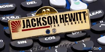 Jackston Hewitt Cloisonne Pin H