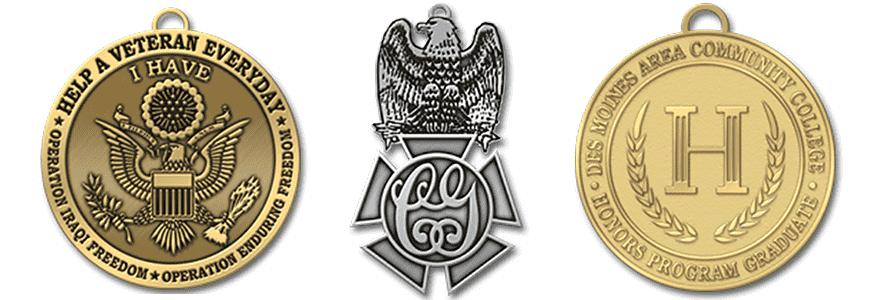 die struck medals 2