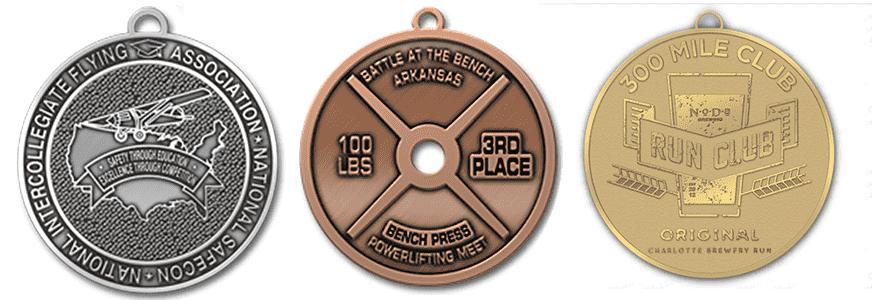die struck medals 1