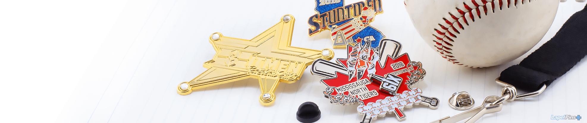 Trading Pins lapel pin header