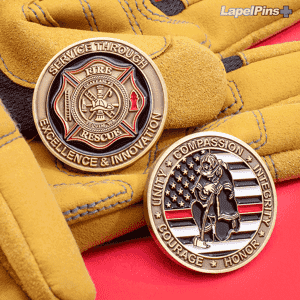 Clallam Fire Rescue Firefighter Challenge Coins