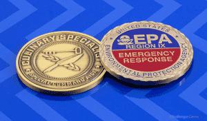 EPA Region Emergency Response Challenge Coin
