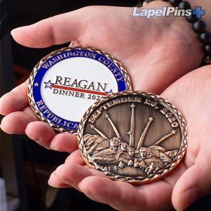 Reagan-Dinner-2020-Challenge-Coin---Antique-Copper