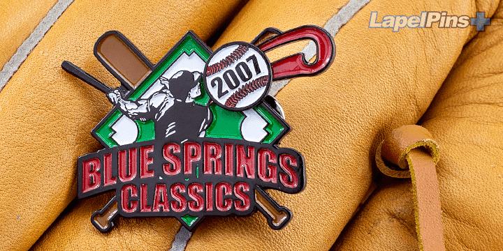 Blue Springs Classics Trading Pin