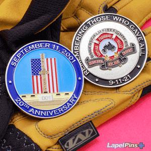 Bakersfield Firefighter Challenge Coin