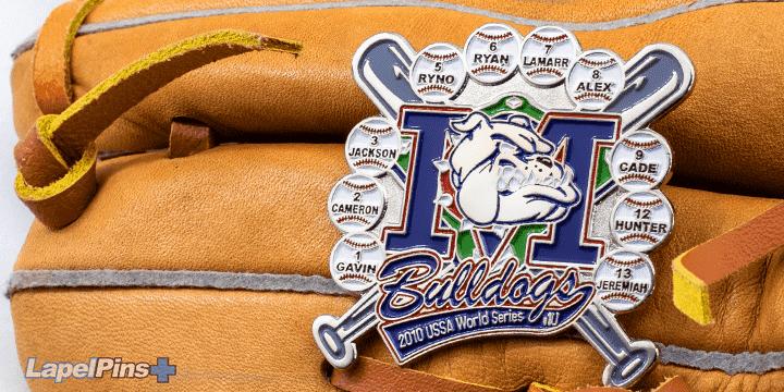 Bulldogs USSA World Series Trading Pin
