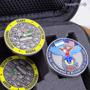Airmen Family Mission Challenge Coin