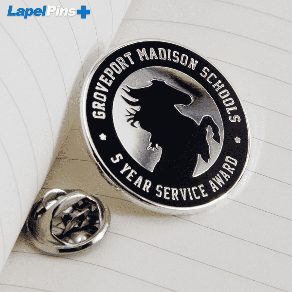 School Recognition Pin S