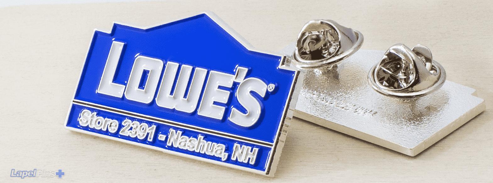 Lowes Lapel Pins Plus